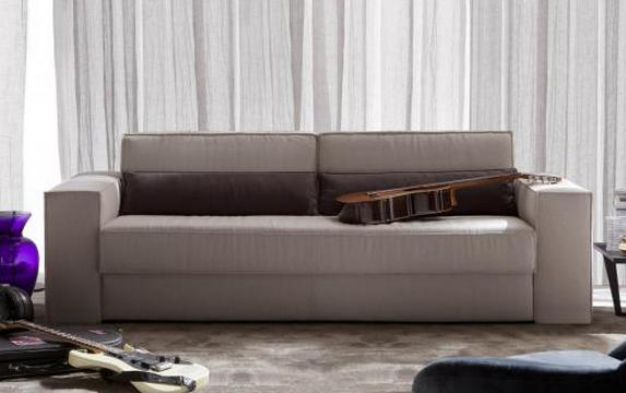 бежевый диван-кровать BellaLì от Берто