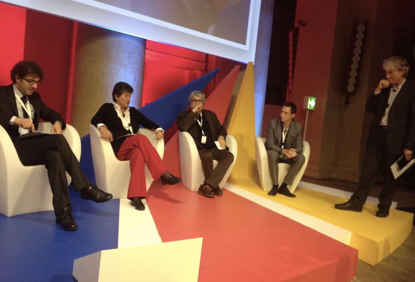 Filippo Berto BigTent di Google a Roma