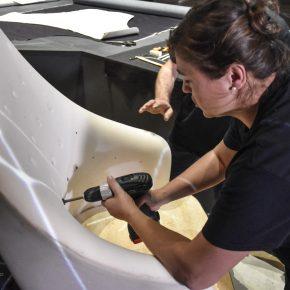 Preparazione dello schienale di vanessa4newcraft