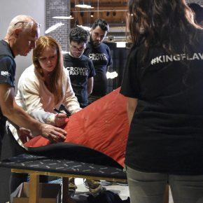Preparazione dello schienale di vanessa4newcraft - valentina sala