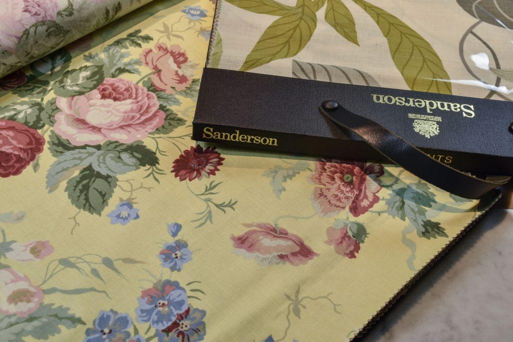 Ткани Sanderson текстильная коллекция Берто
