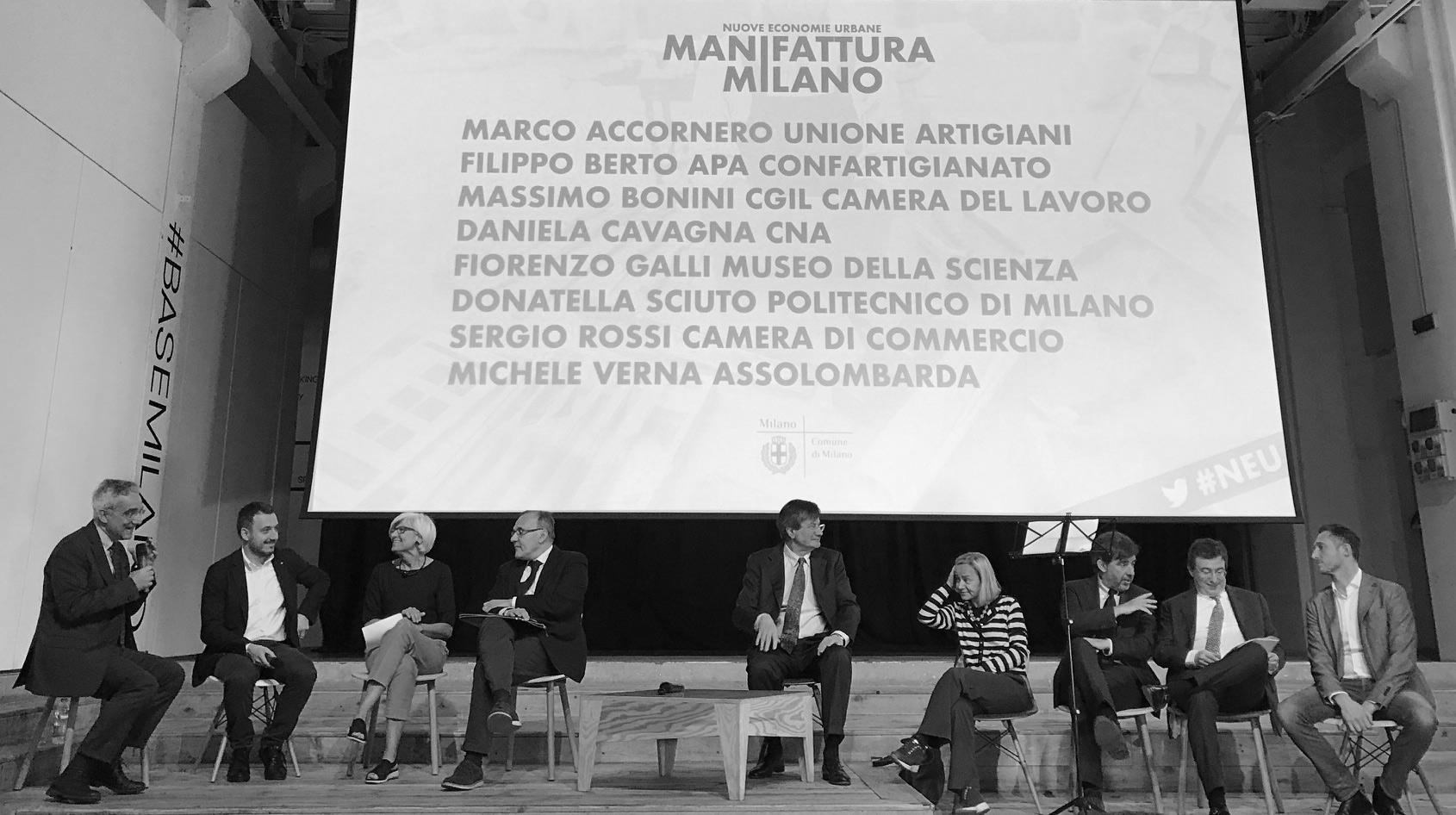 Tavola Rotonda Manifattura Milano con dario di vico