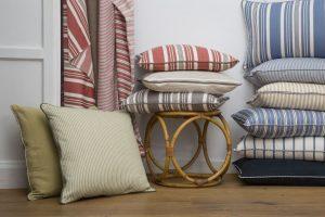 tessuti a righe LaMadrid collezione tessile berto