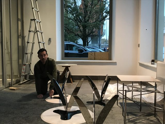 Allestimento showroom BertO Torino