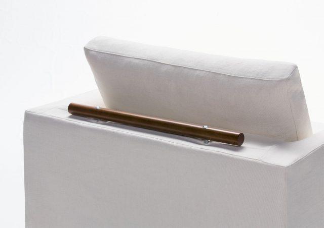 maniglia di apertura in legno poltrona letto Flora Berto Salotti