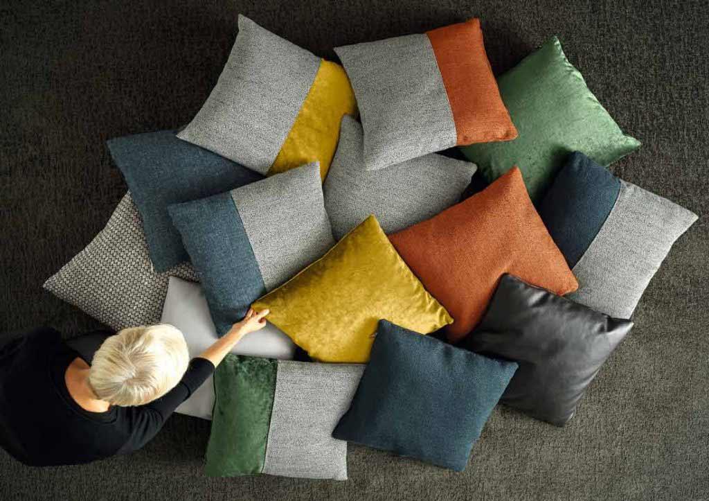 предметы интерьера берто: коллекция подушек дизайна