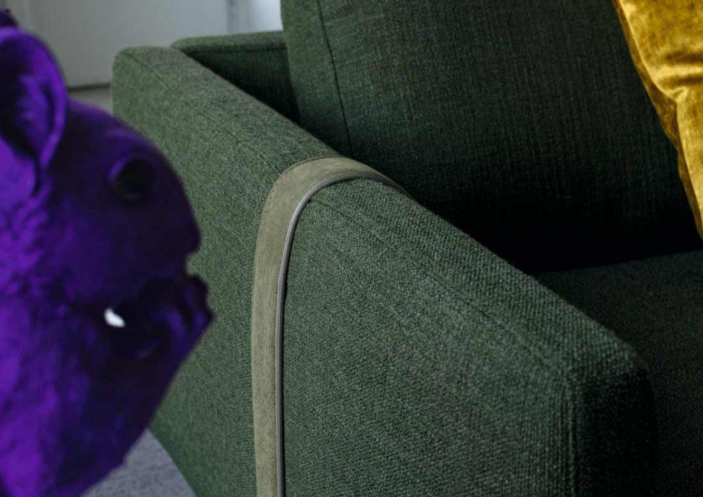 Диван Dee Dee с ремнём цвета дивана