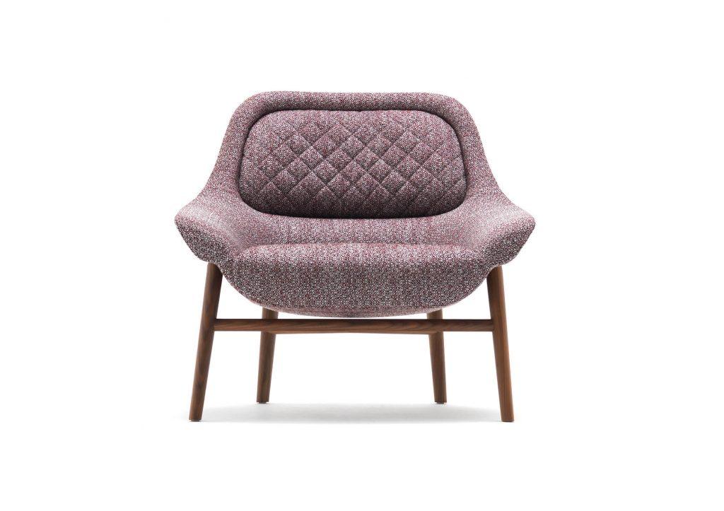 кресло Hanna берто, дизайн студии кастелло лагравинезе, созданный для миланского фестиваля фильмов дизайна 2020