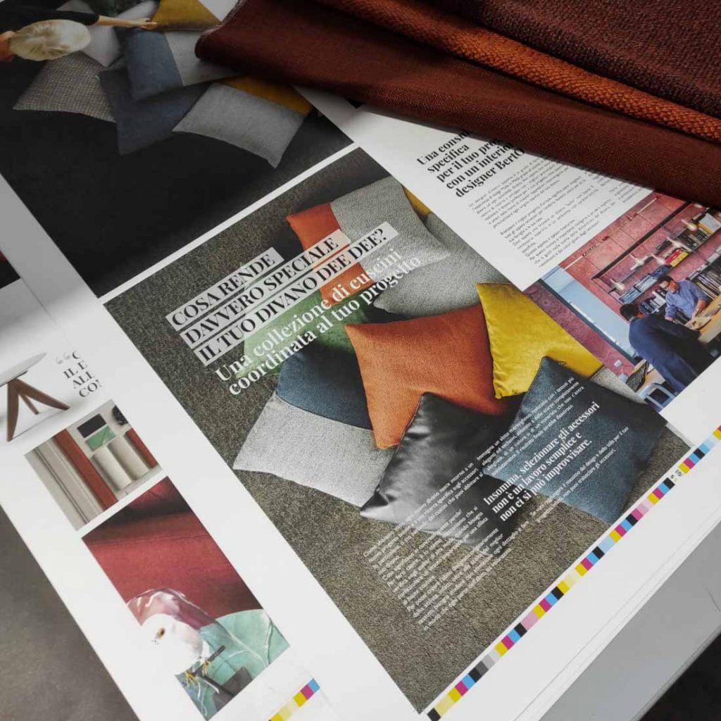 BertoBillboard: фото печати нового журнала о дизайне, созданный БертО - дизайн мечты сделано в Меде