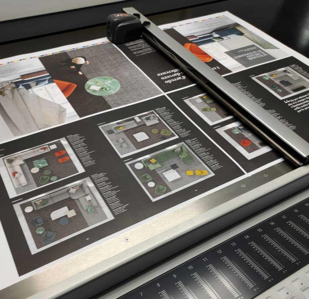 BertoBillboard, официальный журнал БертО дизайн мечты сделано в Меде в печати
