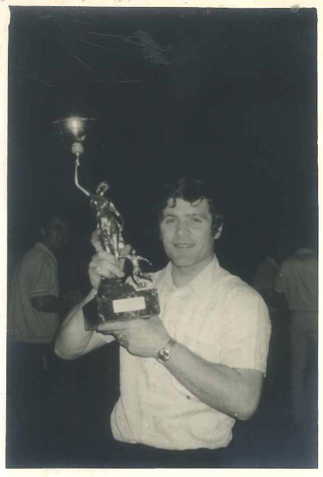 Карло Берто в 70-ые годы