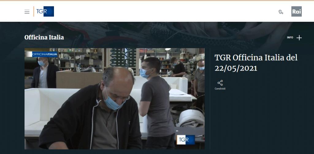 Лаборатория БертО в Officina Italia TGR
