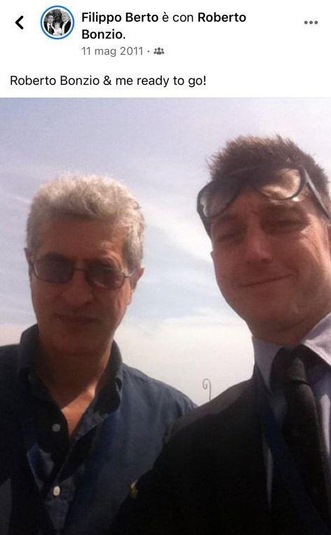 Filippo Berto и Roberto Bonzio на Цифровом Экономическом Форуме Венеции в 2011 году
