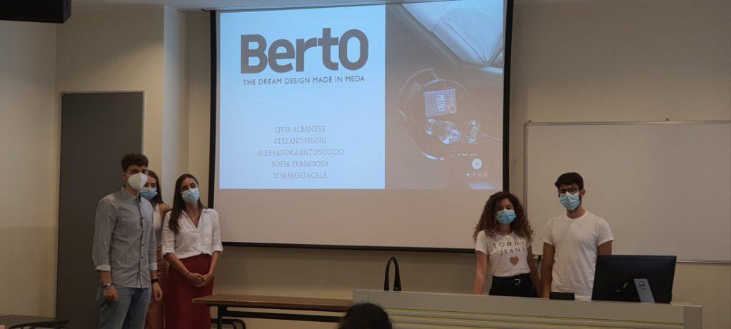 Студенты Магистра по Цифровому Маркетингу Università Cattolica Милана работают над Случаем BertO